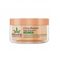 "Hempz Citrus Blossom Herbal - Cкраб для тела ""Лимон"", 176гр"